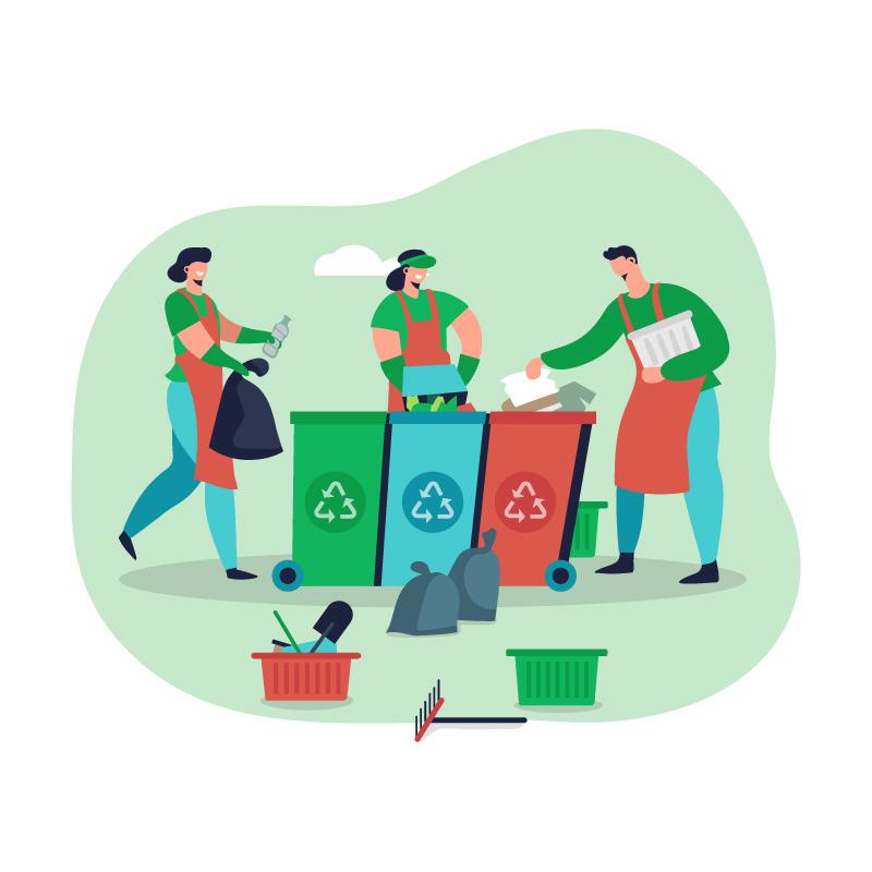 Recolecci?n de Residuos s?lidos por empresas de reciclaje como Ecogreen Mundo